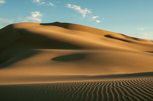 この砂丘の先にオアシスはあるのか?